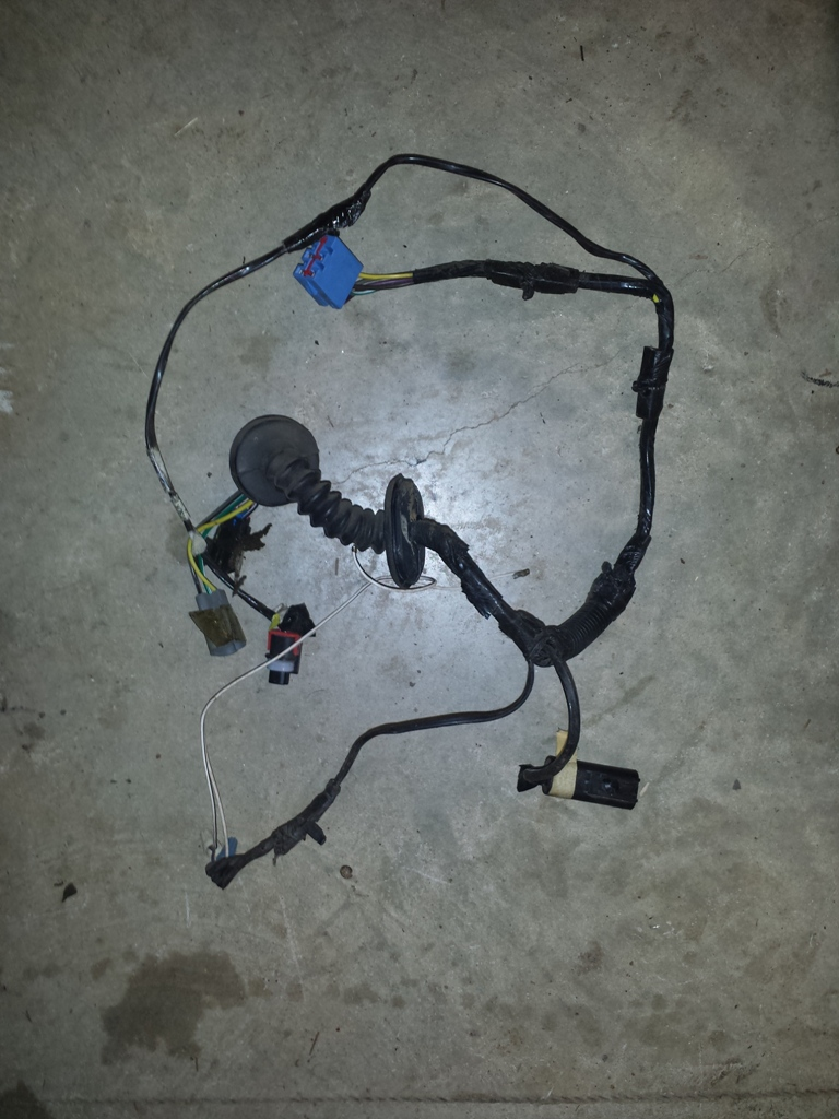 Jeep Zj Wiring Harness : Jeep grand cherokee zj driver s side rear door wiring
